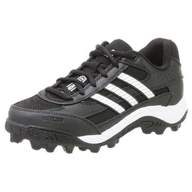 adidas Boy's Corner Blitz 7 J Low,Black/Runwht/Metsil,1 M