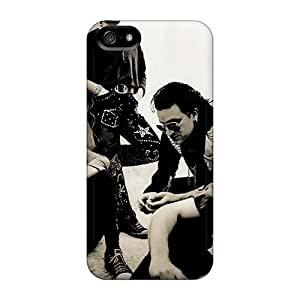 Shockproof Hard Phone Cases For Iphone 5/5s (YXe2255tqZS) Support Personal Customs Colorful Michael Stipe Pictures