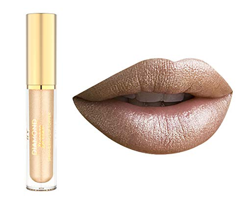 Golden Rose Diamond Breeze Shimmering Lip Topper 02 Golden Nude