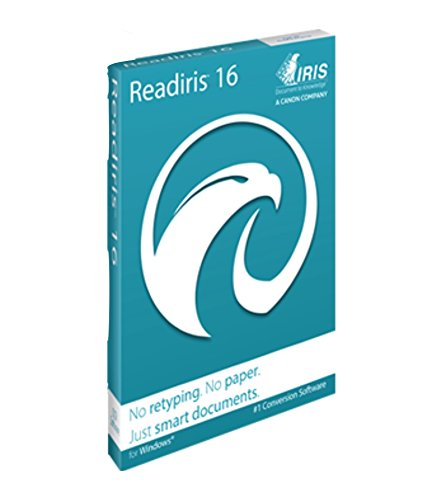 ReadIRIS Pro 16 OCR for Windows - PDF & Document Management DVD