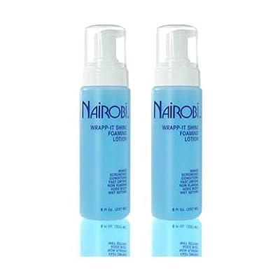 Nairobi Wrapp-It Shine Foaming Lotion 8oz (Pack of 2) by Nairobi