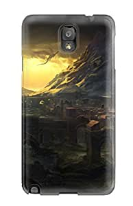 Durable Protector Case Cover With The Witcher 2 - Conceptart Hot Design For Galaxy Note 3