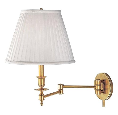 Aged Brass Single Light Wall Sconce from the Abington Collection - Abington Collection