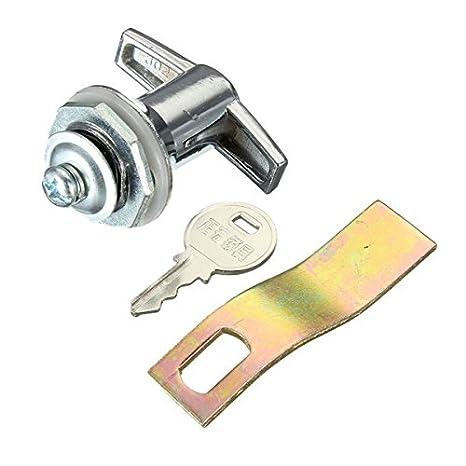 S302-1 Vitrina Vitrina puerta corredera de cristal de cierre con llave pequeña eléctrico Gabinete Cerraduras: Amazon.es: Electrónica