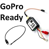 GoPro Hero 3 Black + Video Transmitter and GoPro Wire Cable 200mW - FAST FREE SHIPPING FROM Orlando, Florida USA!