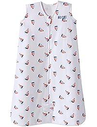 Sleepsack Cotton Wearable Blanket, Sailboat Navy, Small