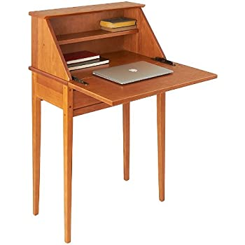 Amazon Com Manchester Wood Shaker Secretary Desk Golden