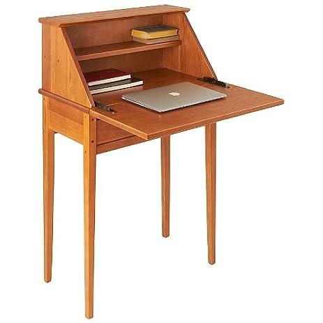 Manchester Wood Shaker Secretary Desk   Golden Oak