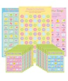 Amscan Delightful Bingo Game Baby Shower Party Novelty Favors, 1.2 x 13.1, Multi
