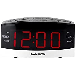 Magnavox MR41806BT Dual Alarm Digital Clock Radio