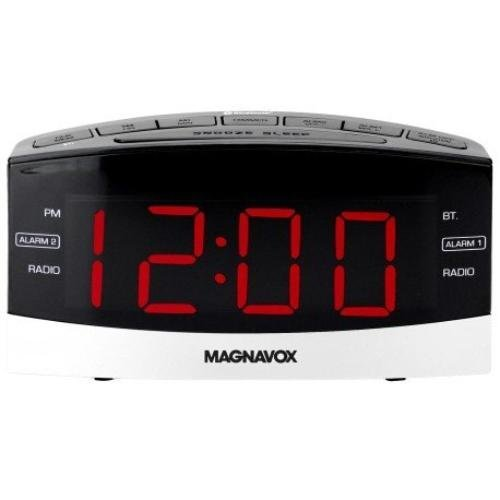 Magnavox MR41806BT Dual Alarm Digital Clock Radio