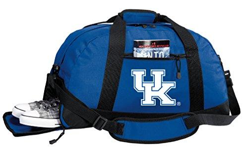 Broad Bay University of Kentucky Gym Bag - Kentucky Wildcats Duffel Bag w/Shoe - Gym Logo Ncaa Bag