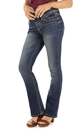 Low Rise Bootcut Jeans - 5