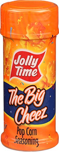 - Jolly Time The Big Cheez Zero Calorie Popcorn Seasoning, 2.75-Ounce Bottle (Pack of 6)