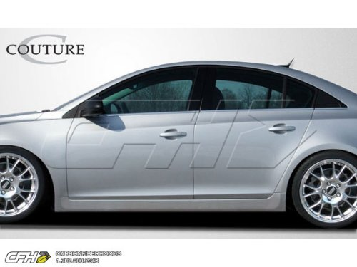 2011-2013 Chevrolet Cruze Couture RS Look Side Skirts Rocker Panels - 2 Piece 106923