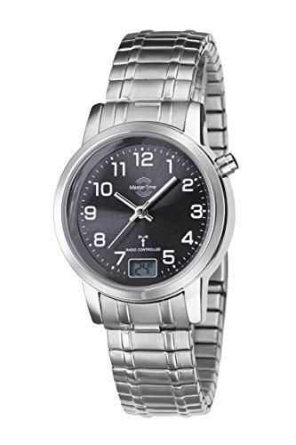 Damen-Funkuhr Master Time Funk Basic Series Damenuhr MTLA-10309-22M Damen-Funk-Armbanduhr
