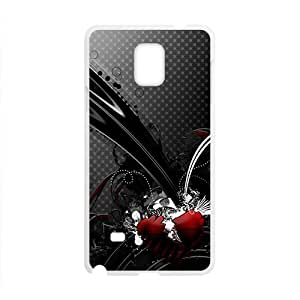 Creative Black Pattern Hot Seller High Quality Case Cove For Samsung Galaxy Note4