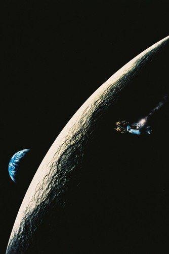 Apollo 13cult movie Apollo 13 craft orbits the Moon 24x36 Mo