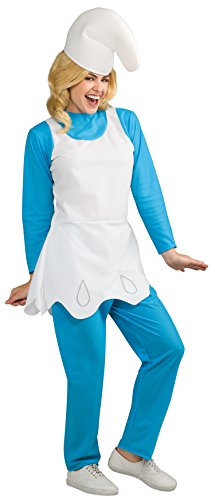 Rubie's Women's Smurfette Adult Costume, Smurfs: The Lost Village, (Smurfette Costume For Adults)