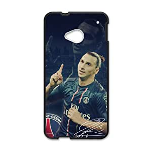 SANLSI Zlatan Ibrahimovic Cell Phone Case for HTC One M7