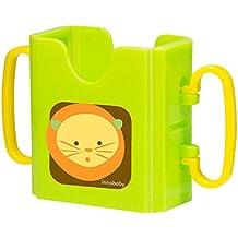 Innobaby Packin' SMART Keepaa Juice Box Holder, Lime Set of 2