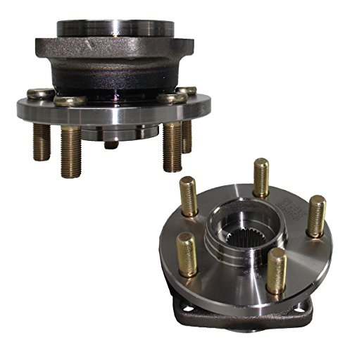 Detroit Axle - Front Wheel Hub and Bearing Assembly - Driver and Passenger Side for - 2005-2014 Subaru Legacy w/ABS - [2005-2014 Subaru Outback w/ABS]