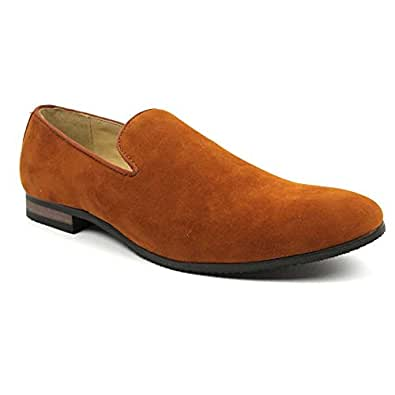 new s suede slip on loafers modern dress