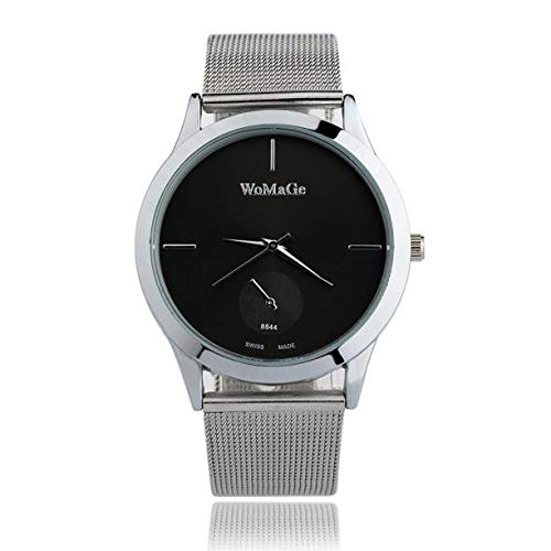 Reloj Mujer Moda,Fashion Alloy Belt Watch Unisex Minimalist Style ...