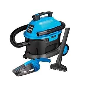Aquavac 58120201 Vac Auto - Aspiradora industrial, color negro y azul