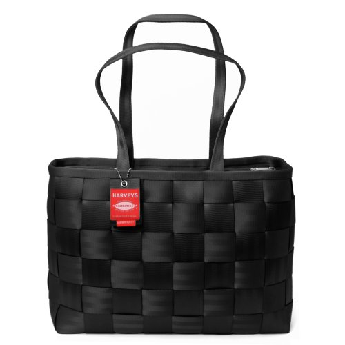 HARVEYS Seatbelt Executive Tote, Black,, Bags Central