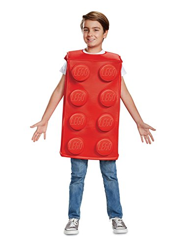 Disguise Red Brick Child Costume, Red, Size/(4-6) -