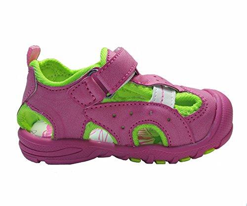 Sandalen Geschlossen Klettverschluß Sandaletten Kinder Baby Slobby OkiPXZu