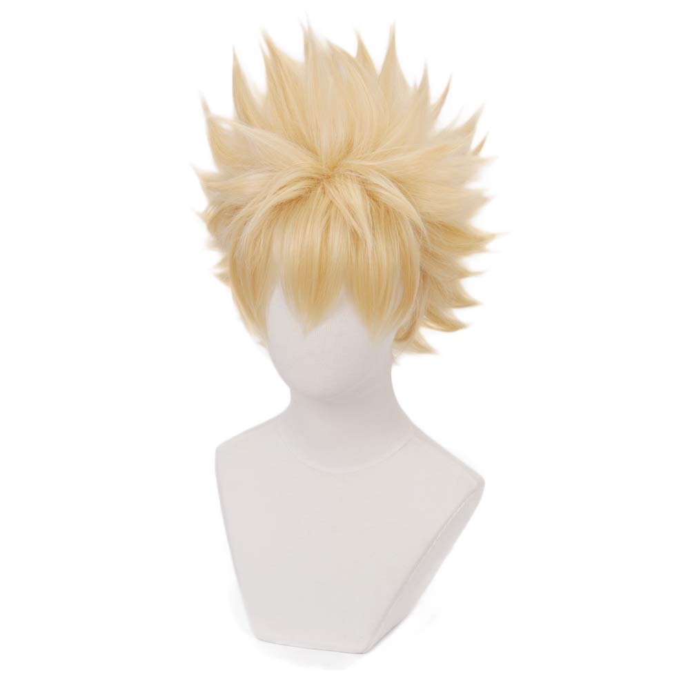 Yamia Anime Cosplay Wig for My Hero Academia Shoto Todoroki Cosplay Wigs with Free Wig Cap Half Silver White Half Red