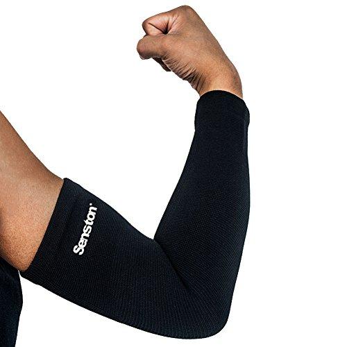 Senston 1 Pieza Protección del Brazo Manguitos de Brazos Calentador del Brazo Compresión Arm Sleeve