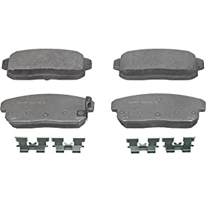 Wagner ThermoQuiet PD900 Ceramic Disc Pad Set With Installation Hardware, Rear