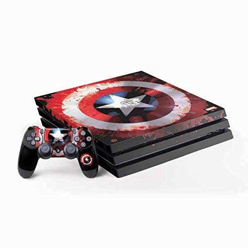 Marvel Captain America Ps4 Pro Bundle Skin   Captain America Shield