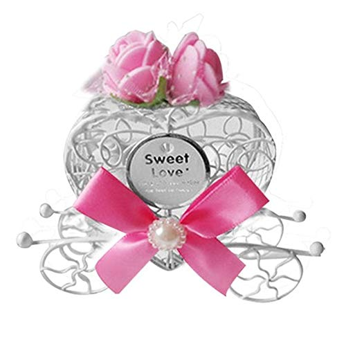 Heart Candy Box Gifts Favours Sweet Love Wedding Decoration - Box Decor