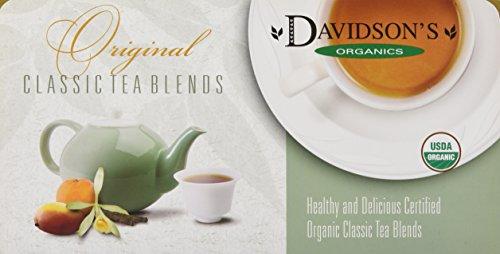 Davidson's Tea Single Serve Assorted Classics, 100-Count  Pack