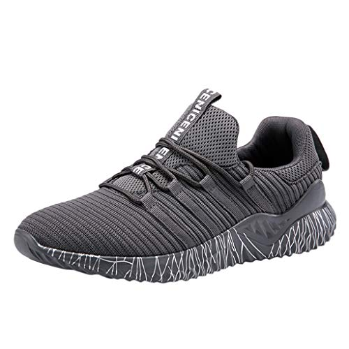 OrchidAmor Mens Women's Mesh Beathing Basketball Running Sport Athletic Shoes Sneakers 2019 Summer Grey