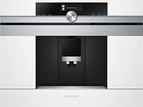 Siemens CT636LEW1 iQ700 Einbau-Kaffeemaschine / 59,4 cm / Flexible Milchlösung / weiß