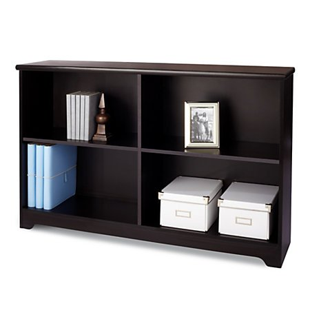 Realspace(R) Magellan Collection 2-Shelf Sofa Bookcase, (2 Shelf Bookcase)