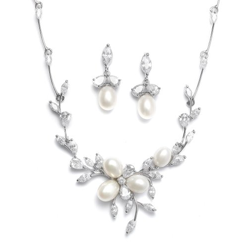 Mariell-Genuine-Freshwater-Pearl-CZ-Marquis-Necklace-Earrings-Set-Our-Best-Selling-Luxury-Jewelry