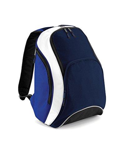 Bag Base - Mochila casual bleu navy / bleu roi / blanc: Amazon.es: Zapatos y complementos