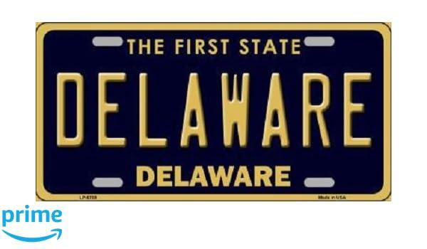 Jersey City New Jersey Background Novelty Metal License Plate