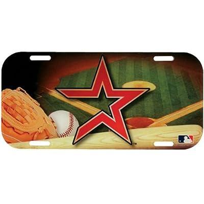 Houston Astros - Field High Def Acrylic License Plate