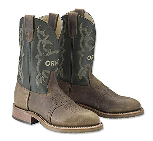 Western Boot Double Boot H - Double-H Men's Orvis Western Boot, 10 1/2 Brown