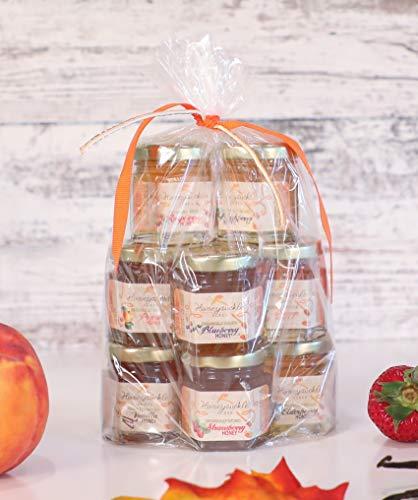 - Sample Honey Gift Set - Organically Infused- 10 Pack (Net Wt 2 Oz Each)