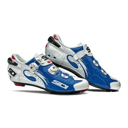 Sidi Wire Carbon Road Cycling Shoes - Blue/White (43 EUR [US 9])
