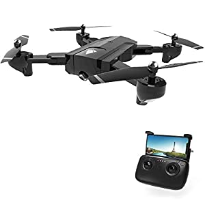DeXop SG900 Rc Drone with Camera 720P Live Video Foldable Quadcopter Drone, 2.4GHz 4CH 6-Axis Gyro One-Key Take Off/Landing Function for Beginners/Kids/Adults 41vPHVE9LOL