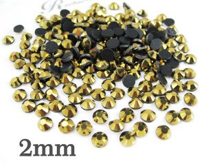 Hot Fix 2mm Rhinestones - 8